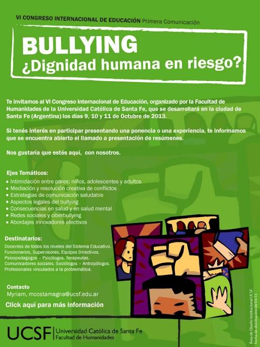 Bullying-Dignidad-Humana-en-Riesgo-Congreso-Internacional-Santa-Fe-Argentina