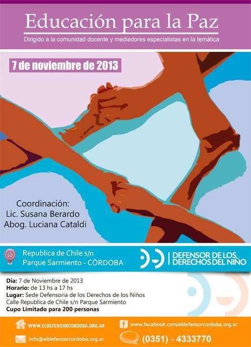 Educacion-para-la-Paz-Cordoba-Argentina-Conferencia-Defensoria-de-los-ninos