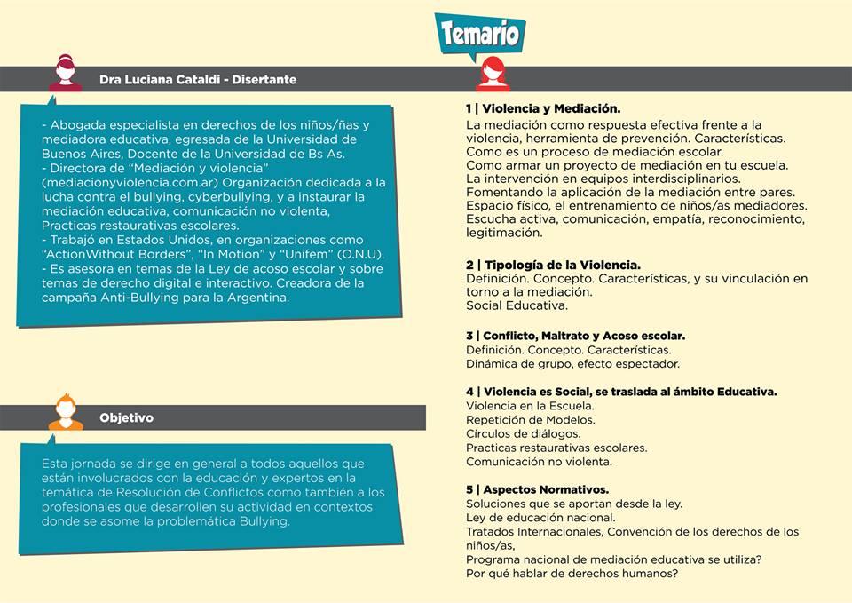 Mediacion-Jornada-La-Rioja-Argentina-Disertante-Luciana-Cataldi